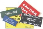 Engraved Plastic Labels & Fixings