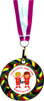 Superb Enamel Medals